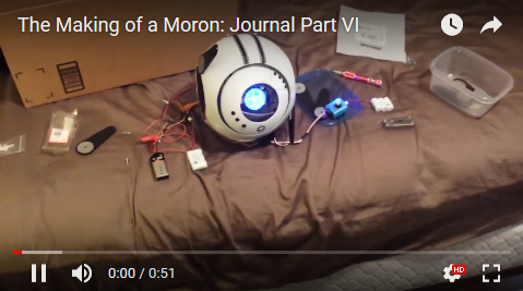 The Making of a Moron: Journal Part VI