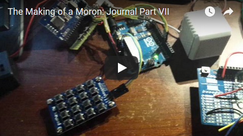 The Making of a Moron: Journal Part VII