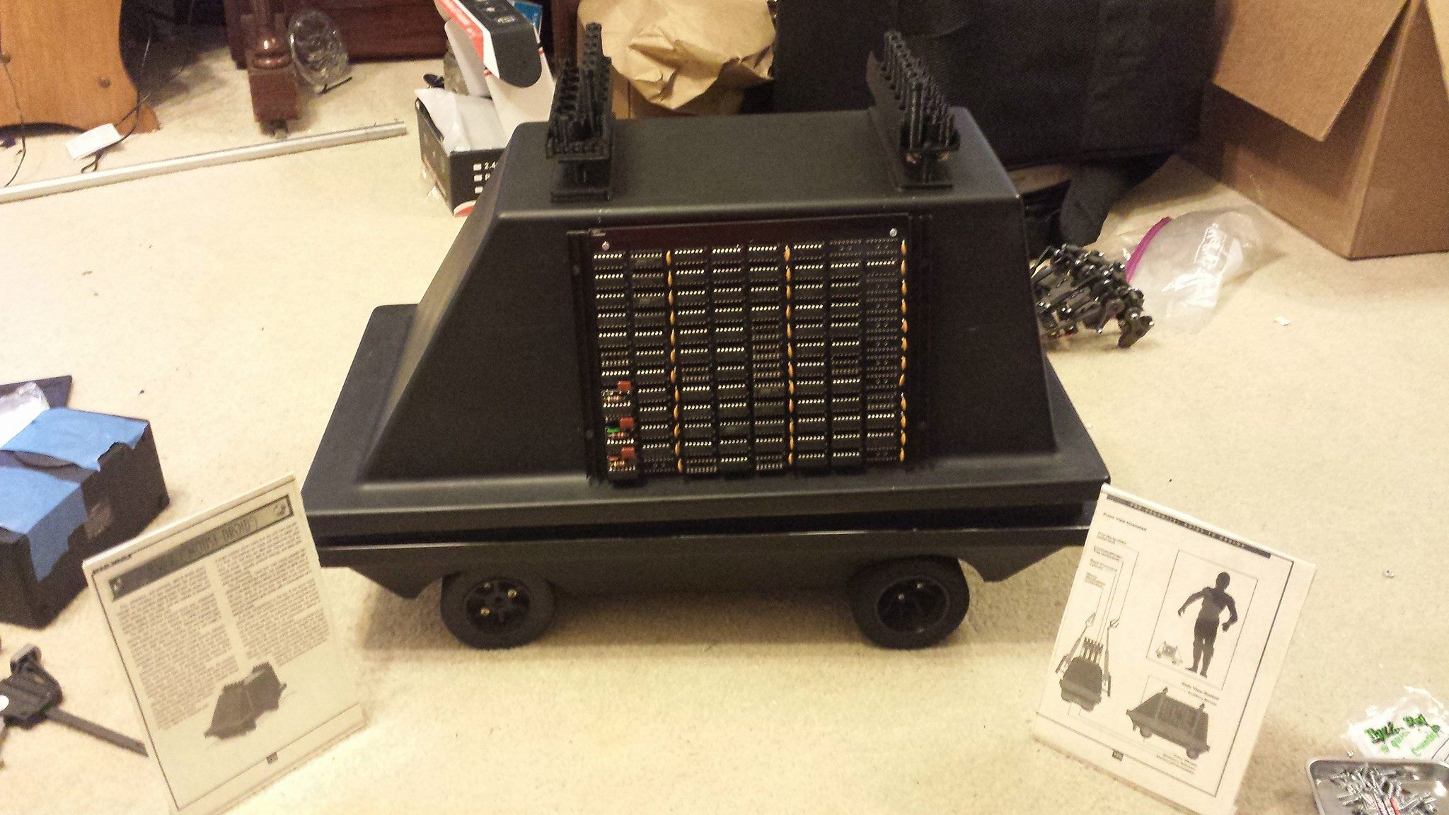 Mouse Droid MSE-6-5C4883R5: Near Completion